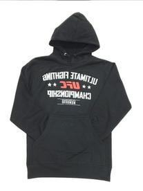 UFC MCMXCIII Hooded Pullover, 3X, Black