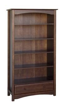 Davinci MDB Bookcase, Espresso