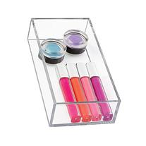 mDesign Cosmetic Drawer Organizer for Vanity Cabinet to Hold