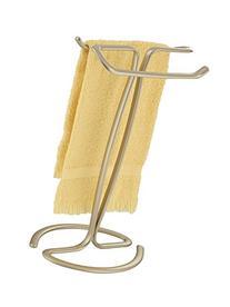 mDesign Hand Towel Holder for Bathroom Vanities - Pearl