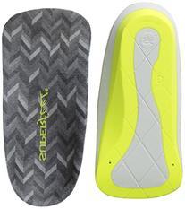 Superfeet Men's Me Designer Comfort Insoles, Charcoal, Small