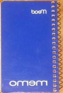 Mead Note Pad Spiral 5 In. X 3 In