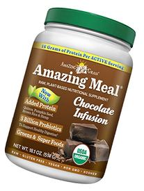 Amazing Grass Amazing Meal Vanilla Chai, 15 servings, 13.2