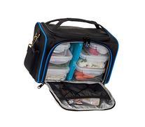 Meal Prep Bag by LISH - Insulated Lunch Box w/6 BPA Free