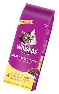 Whiskas Meaty Selections Chicken And Turkey Flavors Dry Cat