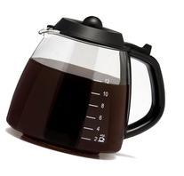 Medelco 12 Cup Millennium Style Carafe, Black GL312 Model: 1