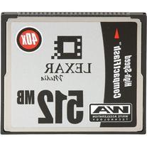 Lexar Media 512 MB CompactFlash HSS  CF512-40-278