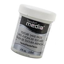Media Texture Sand Paste 4Oz-White