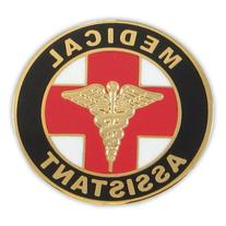 PinMart's Medical Assistant MA Lapel Pin