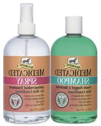 W F YOUNG Absorbine Medicated Shampoo & Spray Twin Pack
