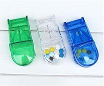 Medicine cute Pill Compartment Box Case Divide Storage