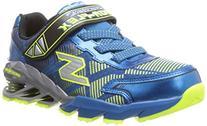 Skechers Kids 95556L Mega Blade Sneaker with Springs,Blue/