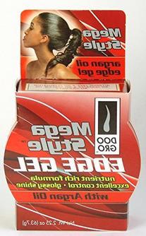 Doo Gro Mega Style Edge Gel with Argan Oil, 2.25 Ounce