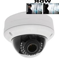 HDView 4MP Megapixel HD IP Network Camera PoE WDR Wide