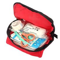 Meily Emergency First Aid Kit Bag Pack Home Travel Sport