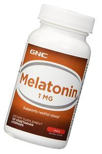 GNC Melatonin 1, Tablets, Cherry, 120 ea