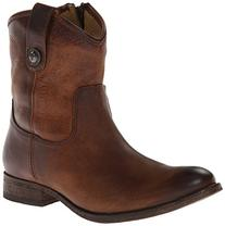 Frye Melissa Button Short Boot - Women's Dark Brown, 8.0