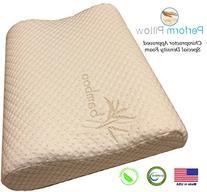 Memory Foam Neck Pillow - Double Contour - Chiropractor