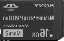 16GB Memory Stick PRO Duo Memory Card