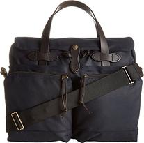 Filson 24 Hour Tin Cloth Briefcase Navy, 70140410135