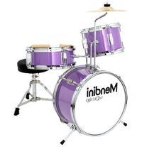 Mendini by Cecilio 13 Inch 3-Piece Kids / Junior Drum Set