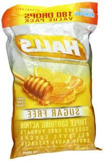 Halls Mentho-Lyptus - Suger Free Honey Lemon 180 drops