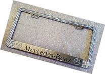 Mercedes Benz License Plate Frame made with Swarovski