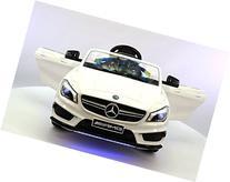 Mercedes CLA45 12V Kids Ride-On Car MP3 USB Player Battery
