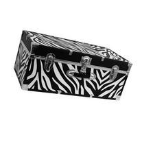 Mercury Luggage Seward Trunk Stackable Storage Footlocker,