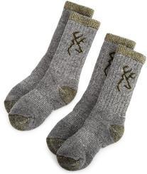 Browning Hosiery Unisex Child Kids Merino Wool Blend Sock, 2