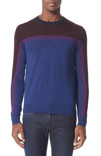 Men's Paul Smith Merino Wool & Silk Colorblock Pullover,