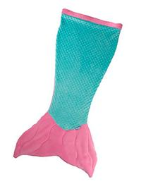 Mermaid Tail Blanket for Kids by Fin Fun Cuddle Tails - Pink