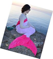 Mermaid Tail Blanket in 7 Colors CHILD & ADULT Size -