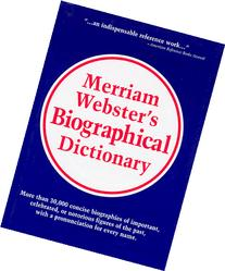 Merriam-Webster's Biographical Dictionary