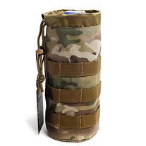 OneTigris Mesh Bottom MOLLE Water Bottle Pouch Drawstring