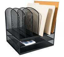 AdirOffice Mesh Desk Organizer - Desktop Paper-File-Folder