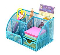 PAG Mesh Desk Organizer Desktop Pencil Holder Office