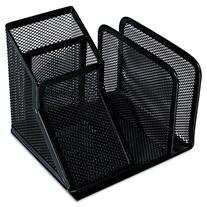 Mesh Desk Organizer  Black