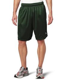 Russell Athletic Men's Mesh Pocket Short, Dark Green, X-