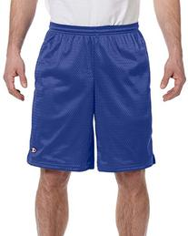 Champion Men's Mesh Short with Pockets Athletic Royal L