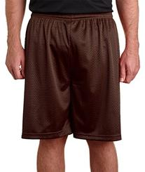 "Badger Adult Mesh/Tricot 7"" Shorts 2XL Brown"