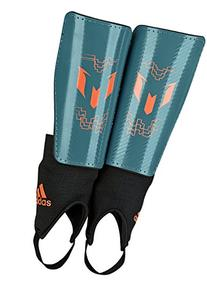 adidas Performance Messi 10 Youth Shin Guard, Power Teal/