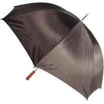 RainStoppers Metal Shaft Golf Umbrella with Wood Handle,