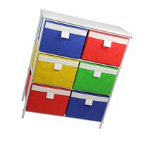 Household Essentials  Metal Storage Unit with 3 Shelves and