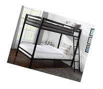 Mainstays Premium Metal Twin Over Twin Bunk Bed Black, for