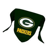 MFG Green Bay Packers Mesh Dog Bandana, Large