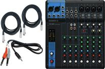 Yamaha MG10 10-Input Stereo Mixer w/  20' XLR Mic Cables and