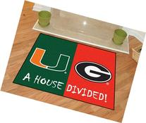 Collegiate Green/Red Area Rug