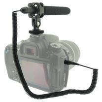Wasabi Power MIC-120 Mini Condenser Shotgun Microphone for