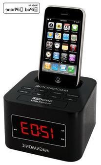 Magnasonic MiC1000K Digital FM Alarm Clock Radio Speaker